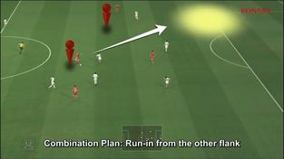 Pro Evolution Soccer 2014 - Team attacking tutorial