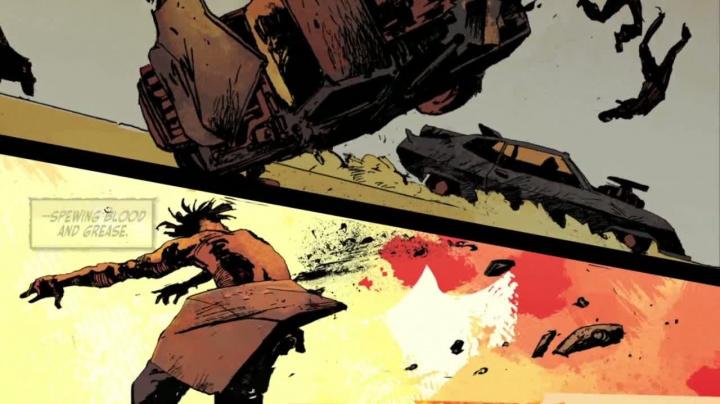 Mad Max - Comic trailer 1