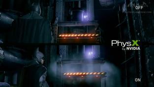 Batman: Arkham Origins - Nvidia PhysX prezentace
