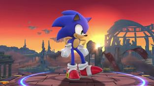 Super Smash Bros. 4 - Sonic Trailer