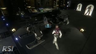 Star Citizen - Hangar Weapon Testing
