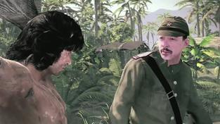 Rambo The Video Game - válečný stroj