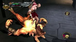 God of War Collection - záběry z VITA verze