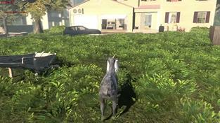 Goat Simulator - Pre-alfa gameplay