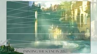 Silence: The Whispered World 2 - Creating The 3D-Scene From 2D-Paintings