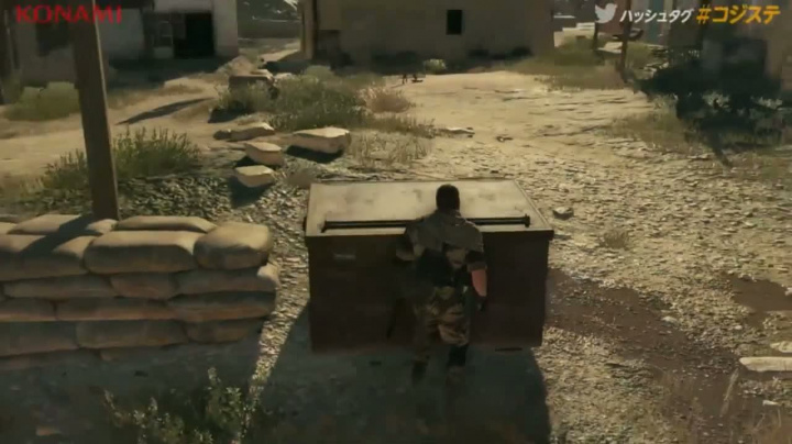Metal Gear Solid 5 The Phantom Pain Gameplay (PS4)