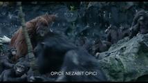 Úsvit planety opic - trailer 2