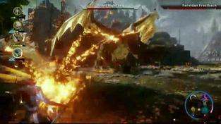 Dragon Age: Inquisition - potyčka s drakem na E3