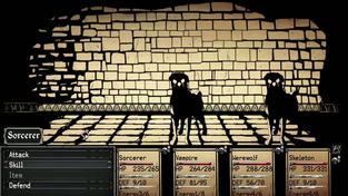 Paper Sorcerer - záběry z hraní