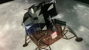 Space Program Manager Moon Landing Teaser Trailer