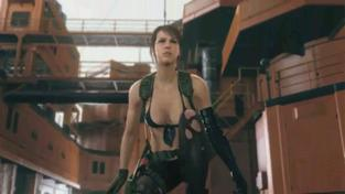 Metal Gear Solid V: The Phantom Pain - Quiet TGS Trailer
