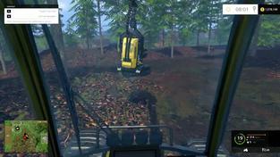 Farming Simulator 15 - Těžba dřeva