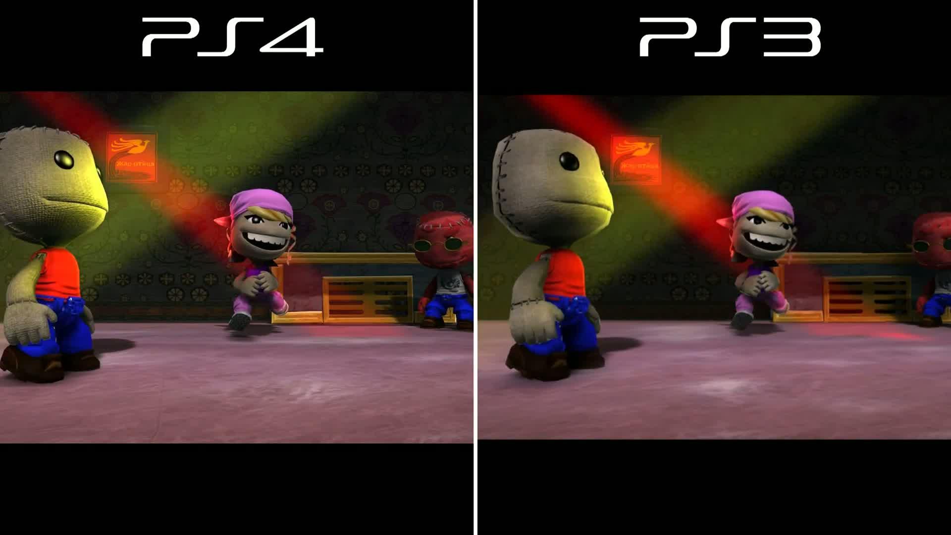 Littlebigplanet 3 Gamescz Ps4 Little Big Planet Beta Ps3 Vs Graphics Comparison Lbp3