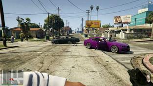 Grand Theft Auto V z pohledu první osoby