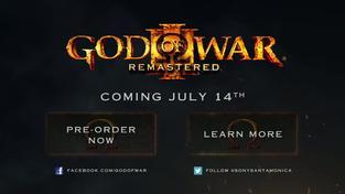 God of War III Remastered - oznamovací trailer