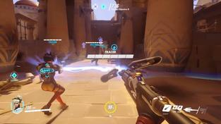 Overwatch - Mercy gameplay