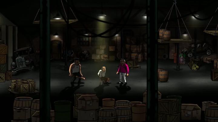 Guns, Gore & Cannoli - animačky