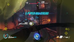 Overwatch - Hanzo gameplay
