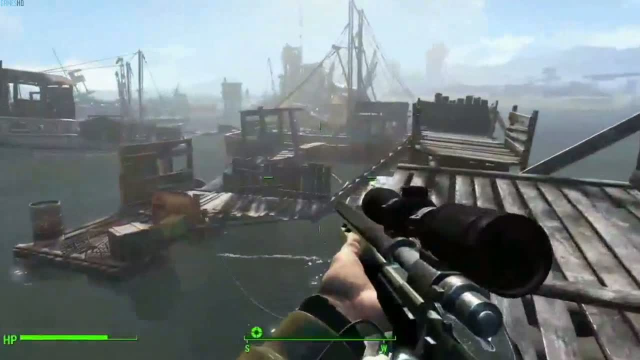 Xbox One Battlefield 4 Gameplay Fallout 4 - Gameplay T...