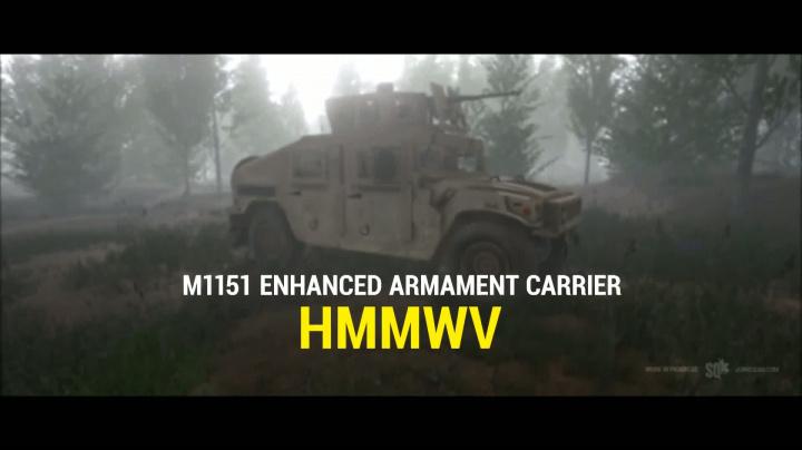 Squad – M1151 HMMWV (Humvee) Reveal