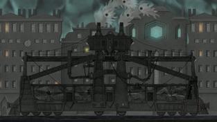 Dark Train - záběry ze hry