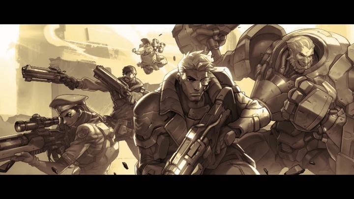 Overwatch - původ Soldier 76