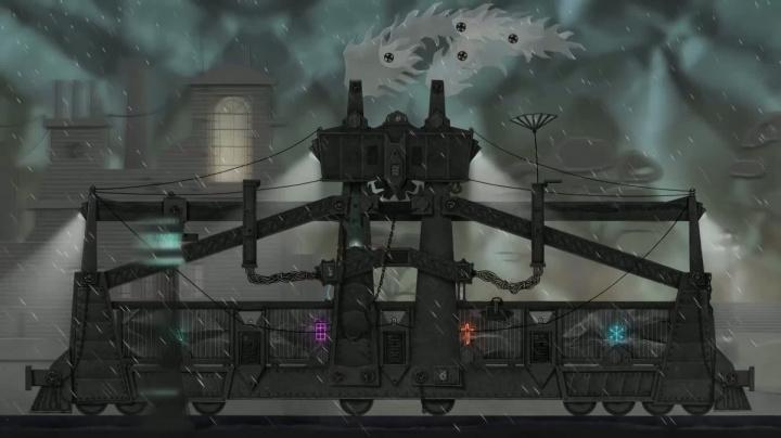 Dark Train - Steam Greenlight Trailer