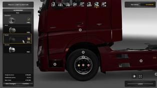 American Truck Simulator – ukázka úpravy kol