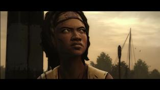 The Walking Dead: Michonne - Episode 1: In Too Deep - volby hráčů