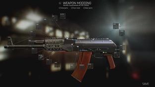 Escape from Tarkov - upravování zbraní v alfa verzi