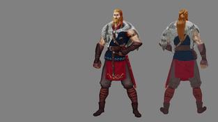 Expeditions: Viking - design postav