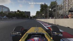 F1 2016 – Jolyon Palmer Baku Flying Lap