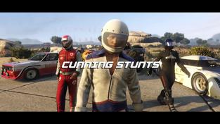Grand Theft Auto V - Cunning Stunts Trailer