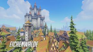 Overwatch - mapa Eichenwalde