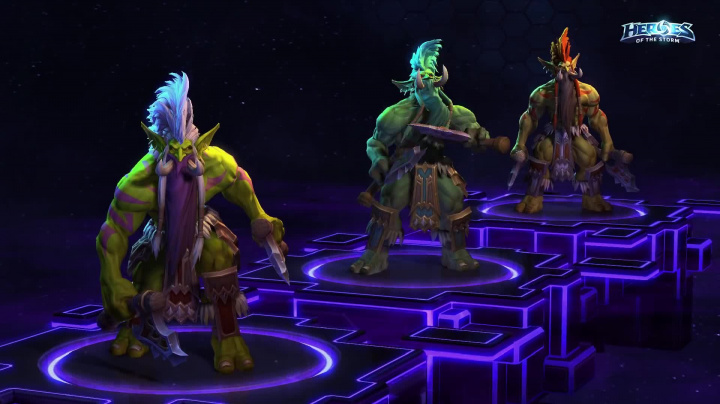 Heroes of the Storm - Zul'jin, nové skiny...