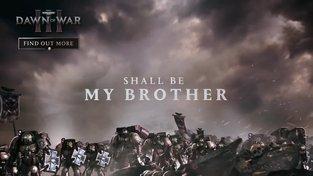 Warhammer 40 000: Dawn of War III - Prophecy of War - Introducing the Space Marines trailer