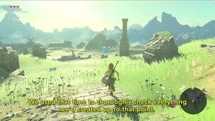 The Legend of Zelda: Breath of the Wild - making of video – Open-Air Concept