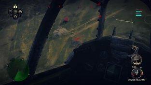 IRON WINGS gameplay útok na nepřátelské letiště