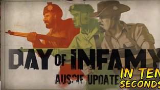 Day of Infamy Aussie Update In Ten Seconds