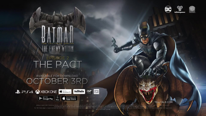 Batman: The Enemy Within - The Telltale Series - Episode 2: The Pact - Harley Quinn Trailer