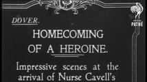 Pohřeb Edith Cavellové ve Westminsterském opatství