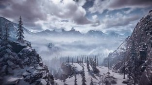 Horizon Zero Dawn: The Frozen Wilds - Environment
