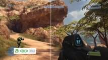 Halo 3 - High Ground - Graphics Comparison: Xbox 360 vs. Xbox One X