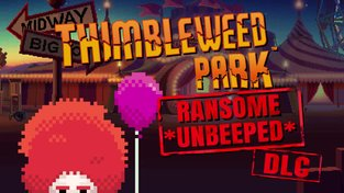 Thimbleweed Park - Ransome *unbeeped* DLC trailer