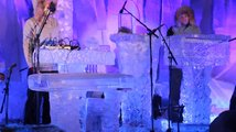 Koncert ledových hudebních nástrojů