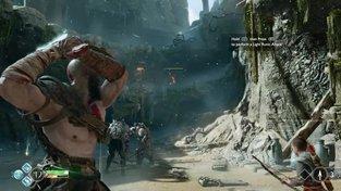 God of War - záběry z hraní preview verze