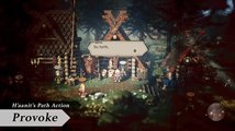 Octopath Traveler - Paths of Noble Acts and Rogue Decisions Info - trailer