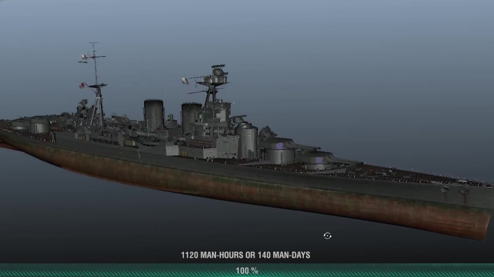 Timelapse- HMS Hood