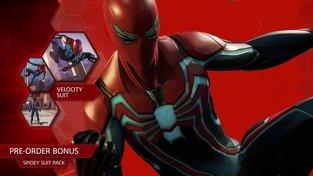 Spider-Man – Všechny tři předobjednávkové obleky