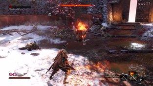 Sekiro: Shadows Die Twice – Souboj s mnichem
